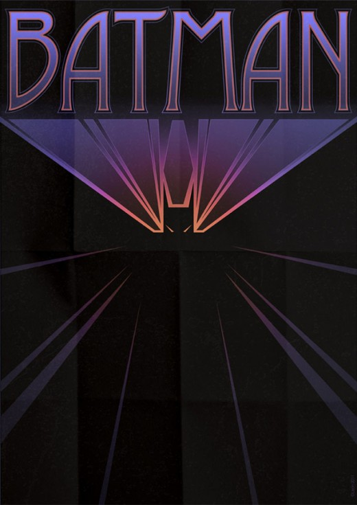 Deco Superhero Art Design Posters 3 520x735 Decorate your geeky lair with these cool art deco superhero posters