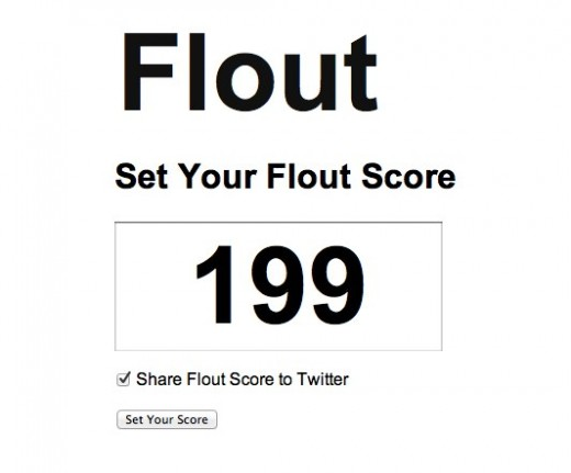 Flout 1 520x431 Think Klout is krap? So does Flout