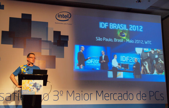 Intel Developer Forum coming to Brazil in 2012