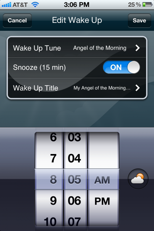 IMG 2366 520x780 MyWakeUpTunes wakes you up with your favorite song and Instagram photos