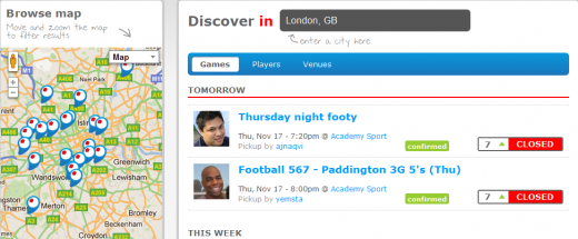 Jogabo Never stop playing 1321455709572 520x215 Jogabo: The Soccer Social Network That Lets You Find Games in Your Area