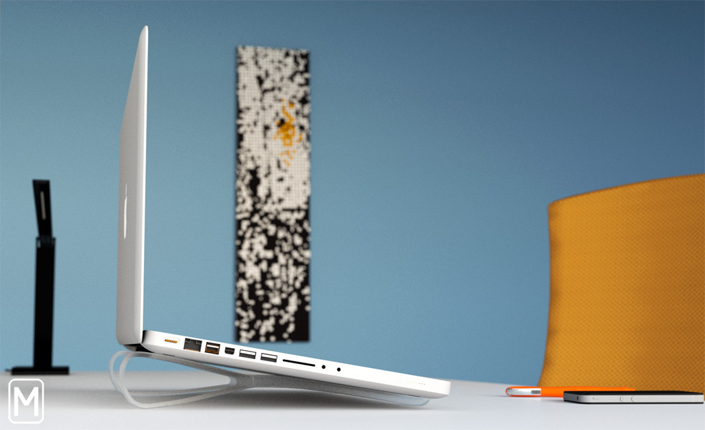 "You'll want this: ""The Prop"", a smart, portable laptop stand"