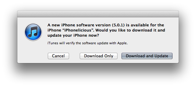 Apple releases iOS 5.0.1 update to fix iPhone 4S battery issues, available OTA as well