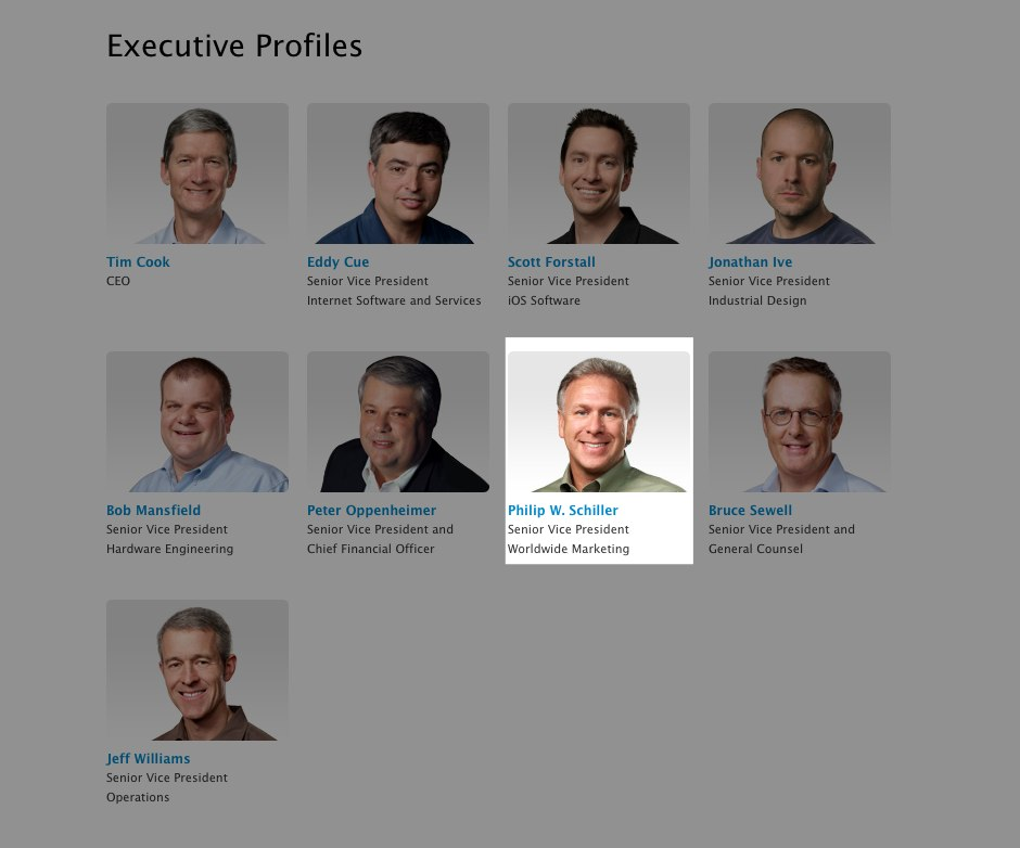 Apple's Phil Schiller gets a title update, now SVP of Worldwide Marketing