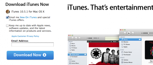 Screen Shot 2011 11 14 at 9.21.28 AM 520x222 Apple releases iTunes 10.5.1, iTunes Match launches today