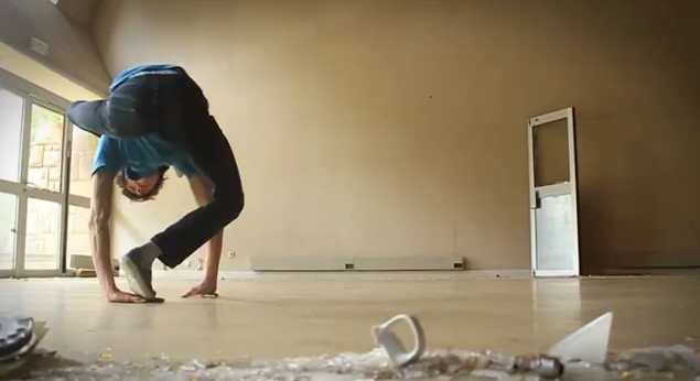 This guy's flexibility will make you cringe. Oh, and he dances too