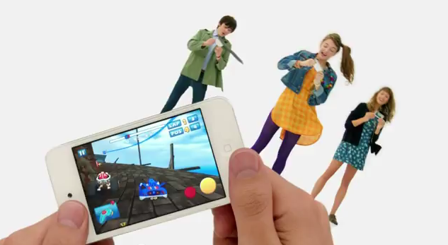 "Apple airs new ""Share the Fun"" iPod touch ad emphasizing teen gaming and chatting"