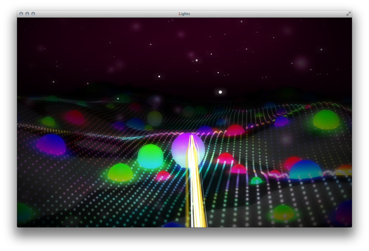 Lights is a Stunning WebGL Demo