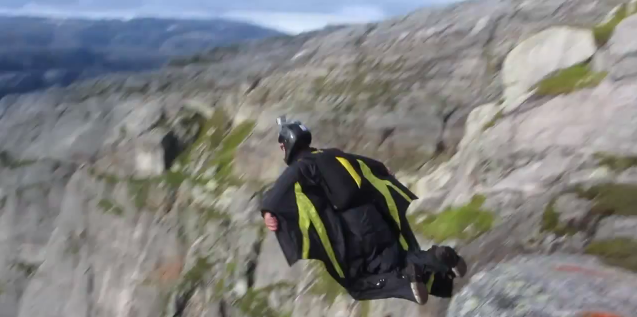 "This wingsuit ""flying"" video will make your day"