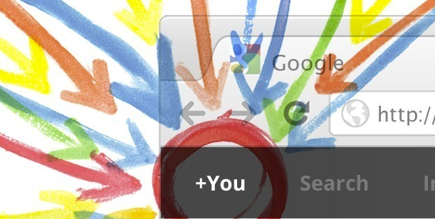 The new Google Bar goes live, featuring direct sharing to Google+