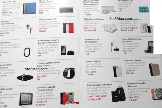 apple black friday deals accessories 2011 520x345 Apple's Black Friday deals revealed: $100 off Macs, up to $60 discount on iPads
