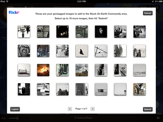 flickr Stuck On Earth lets you travel the world on your iPad