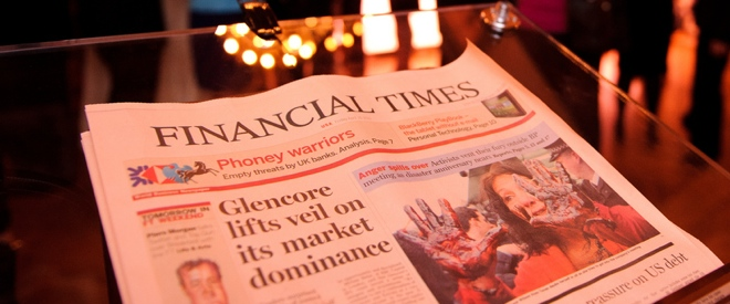 Despite Apple spat, Financial Times digital subscriptions see 30% growth in the last year