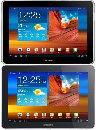 Samsung Releases Redesigned Galaxy Tab 10.1N in Germany to Avoid Apple Infringement