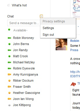 google chat control1 Now you can manage which Google+ contacts appear in Google Chat