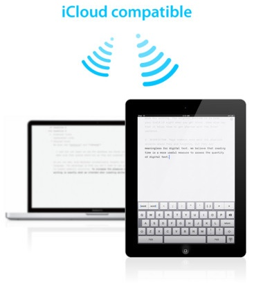ia writer icloud1 iA Writer now uses iCloud to sync documents between your iPad and Mac