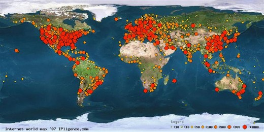 internet map 520x260 5 points to consider for taking your app global
