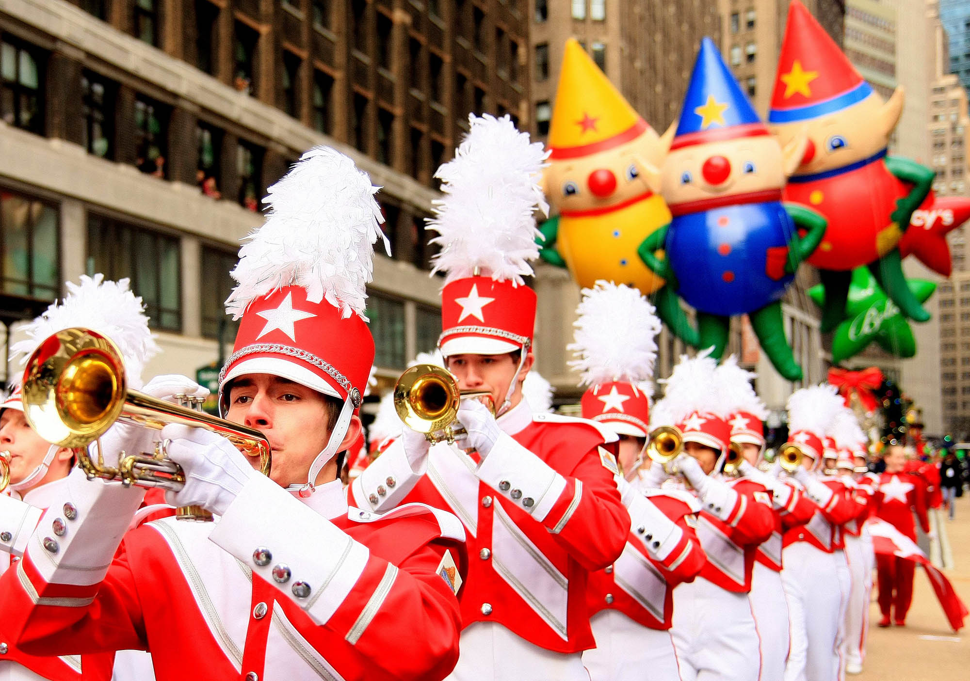 The first ever Macy's Thanksgiving Day Parade app