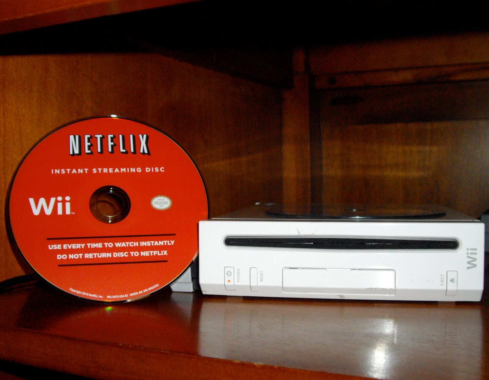 how to watch netflix on wii