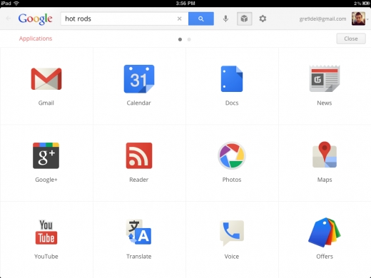 photo 17 520x390 Google just used its Search app to sneak most of Chrome OS onto the iPad