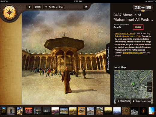 photo Stuck On Earth lets you travel the world on your iPad