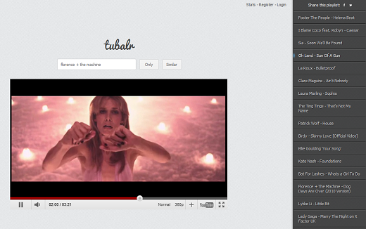 tubalr1 Turn YouTube into a slick jukebox with web app Tubalr