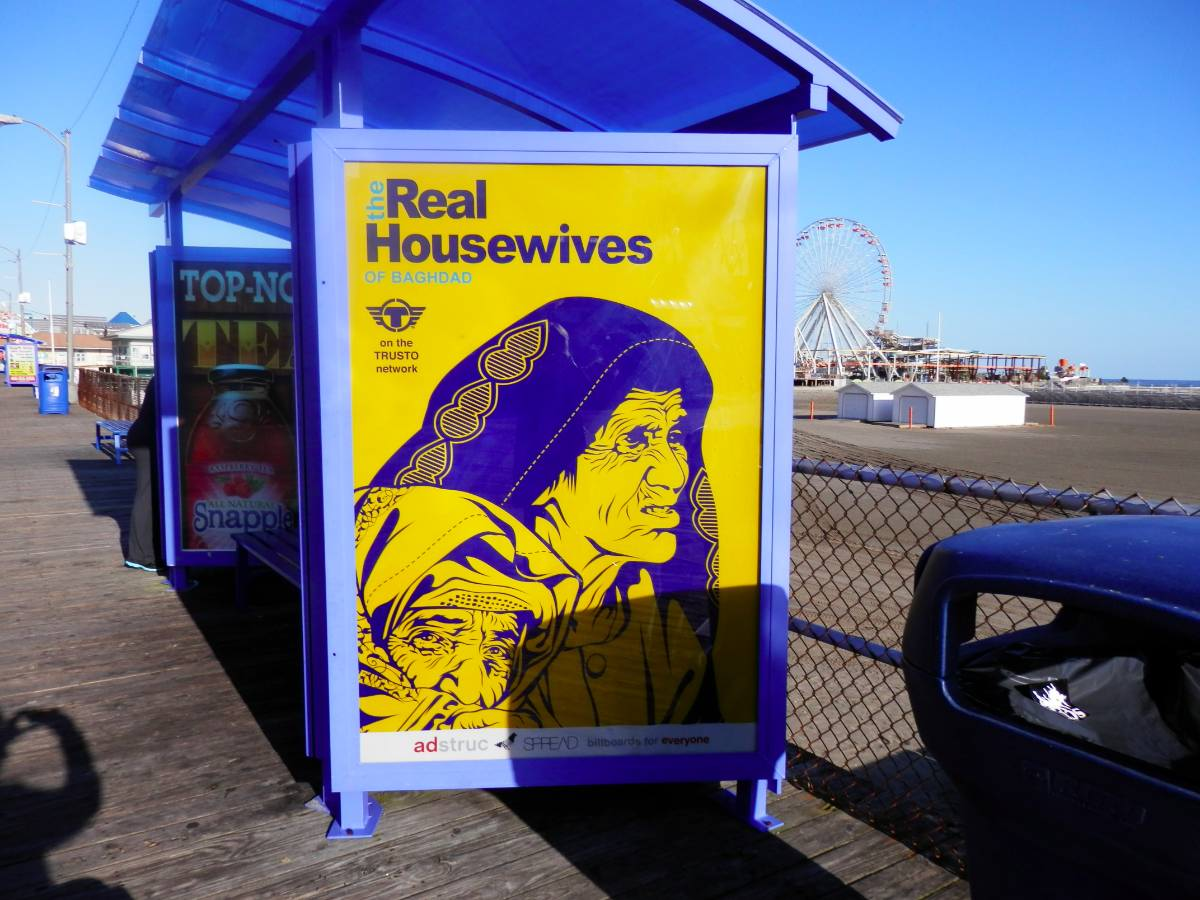 ADstruc's Billboards for Everyone hits the Jersey Shore