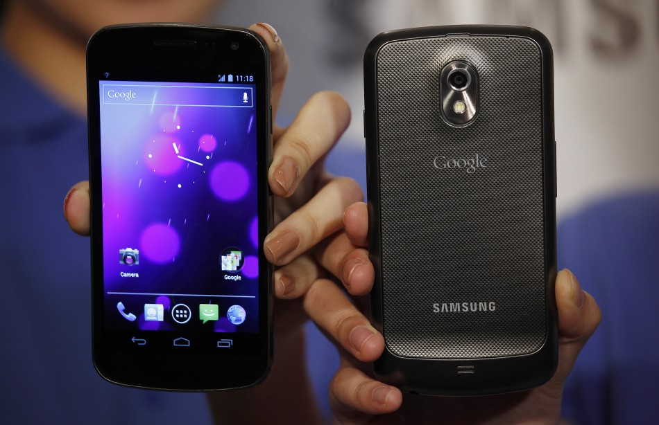 Google gives out customised Galaxy Nexus handsets to employees for Christmas