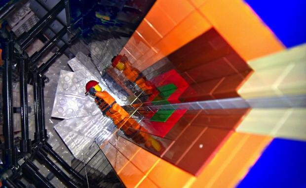 The Large Hadron Collider: Recreated with LEGOs