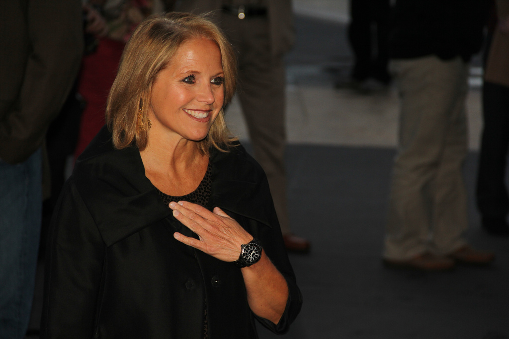 'The Year with Katie Couric' gets the IntoNow behind-the-scenes treatment tonight