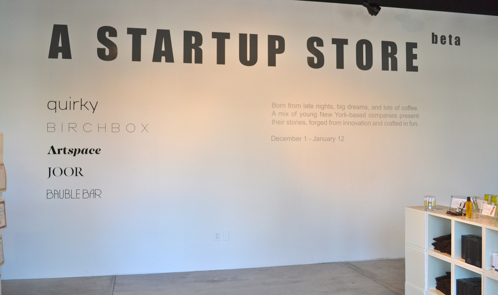A Startup Store launches in beta: Retail may never be the same