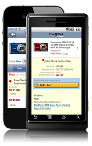 Amazon Price Check 190x300 Amazon offers its mobile app users $5 if they dont buy from a store