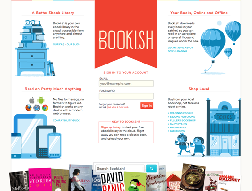 Booki 14 awesome examples of illustration in web design