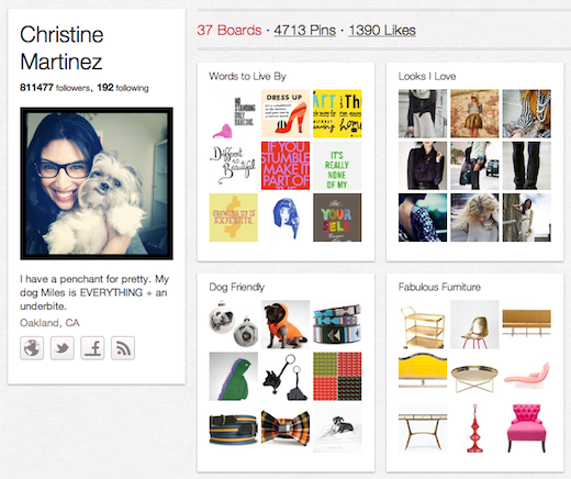 Christine 10 cool Pinterest accounts you should be following