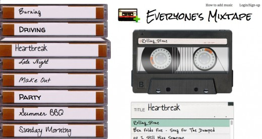 Convofy 75 520x277 Mixtapes go social with the brilliant app Everyones Mixtape