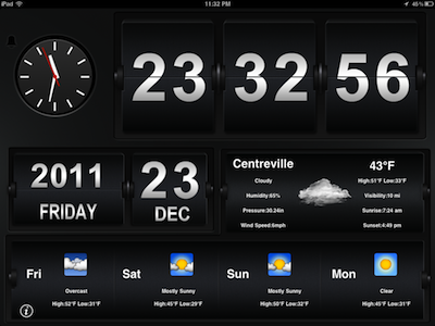 FlipClock Got a new iPad? These are the first apps you should install on it