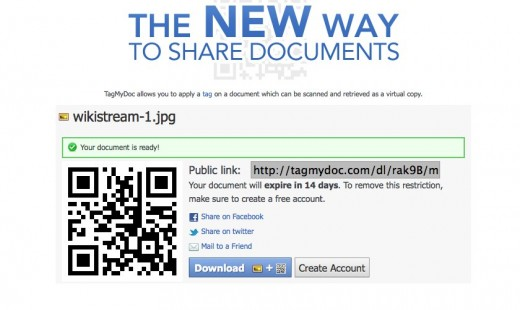Home – TagMyDoc 520x310 Instantly add a QR code to any document using TagMyDoc