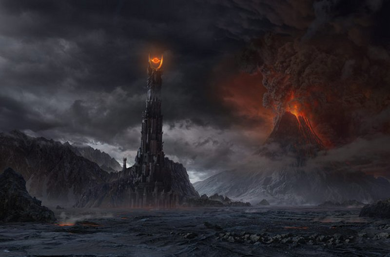 Google Maps verifies that one does not simply walk into Mordor