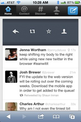 A Walkthrough of the New Twitter app for iPhone [Screenshots