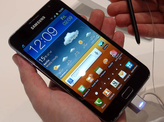 Samsung Galaxy Note surpasses 1 million shipments globally, US launch teased