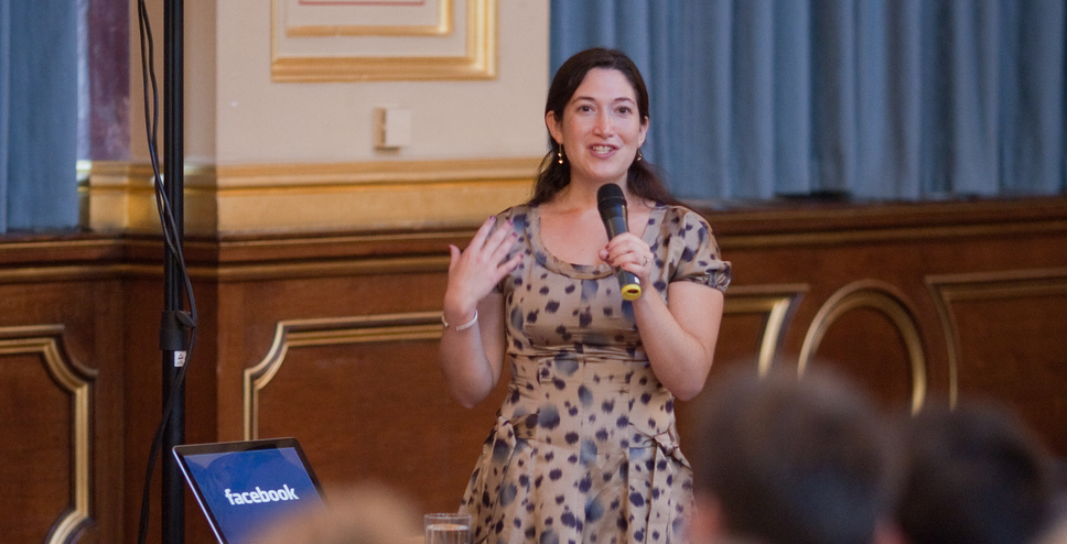 Randi Zuckerberg: Stop using social media to be cool and start building a brand