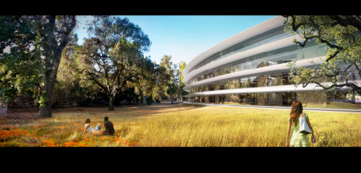 Screen Shot 2011 12 07 at 7.09.49 AM 520x250 Beautiful new details of Apples Spaceship 2.0 headquarters revealed