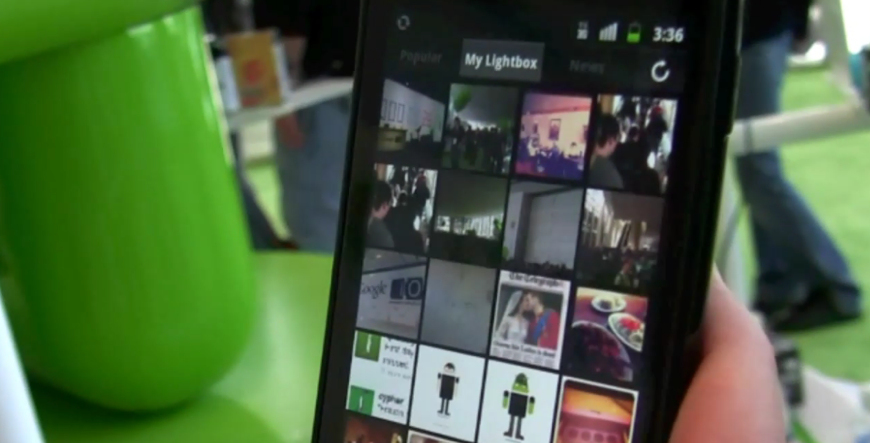 Lightbox for Android now gives you an automatically-created photo blog