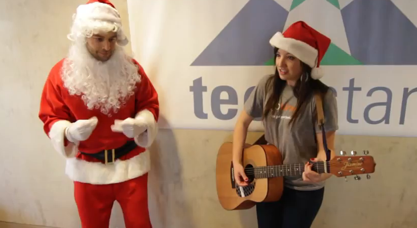 Take a note, First Round Capital – This is how you do a holiday video