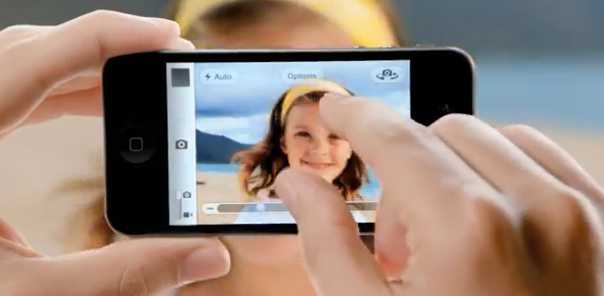 Scandalous! Samsung steals girl from Apple's ad for its own. Watch…