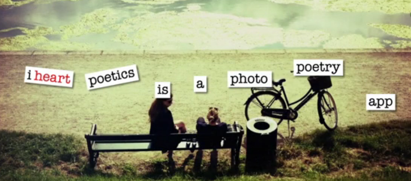 iheart poetics: an app that combines photos with poetry