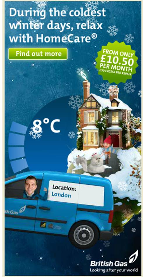 The Weather Channel: Live Weather Data in UK Online Ads