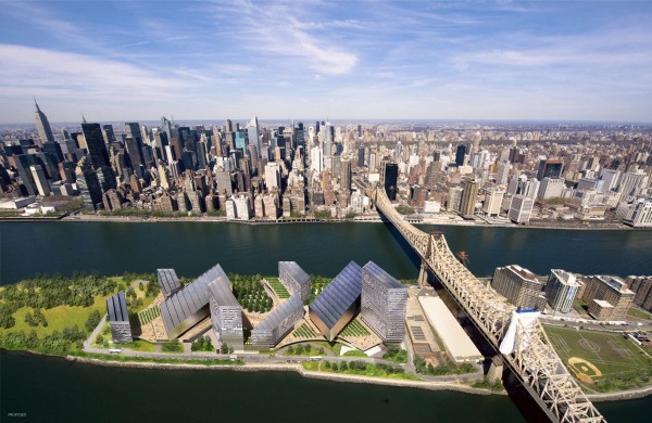 "Check out New York City's Proposed ""Tech Island"" [Video]"