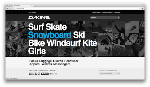dakine 10 of the most beautiful online stores