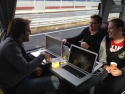 day1 4 StartupBus Europe hits Copenhagen and the teams ideas take shape